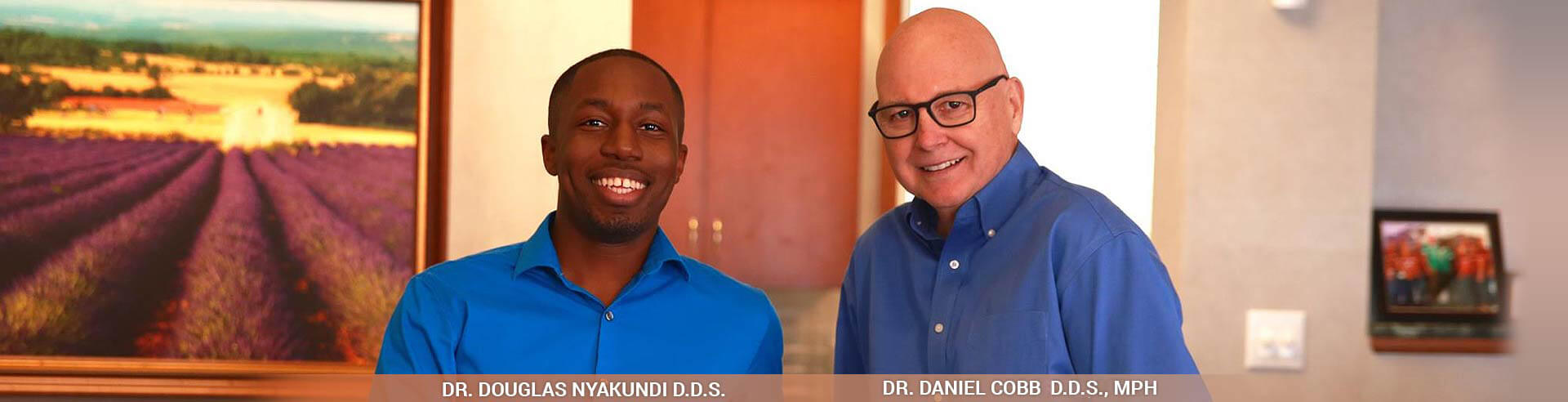 Dr.Daniel Cobb and Dr. Douglas Nyakundi